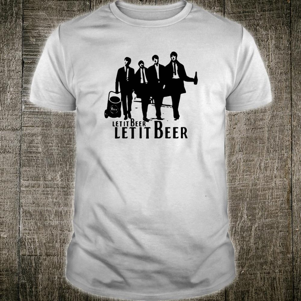 Let it be The Beatles shirt