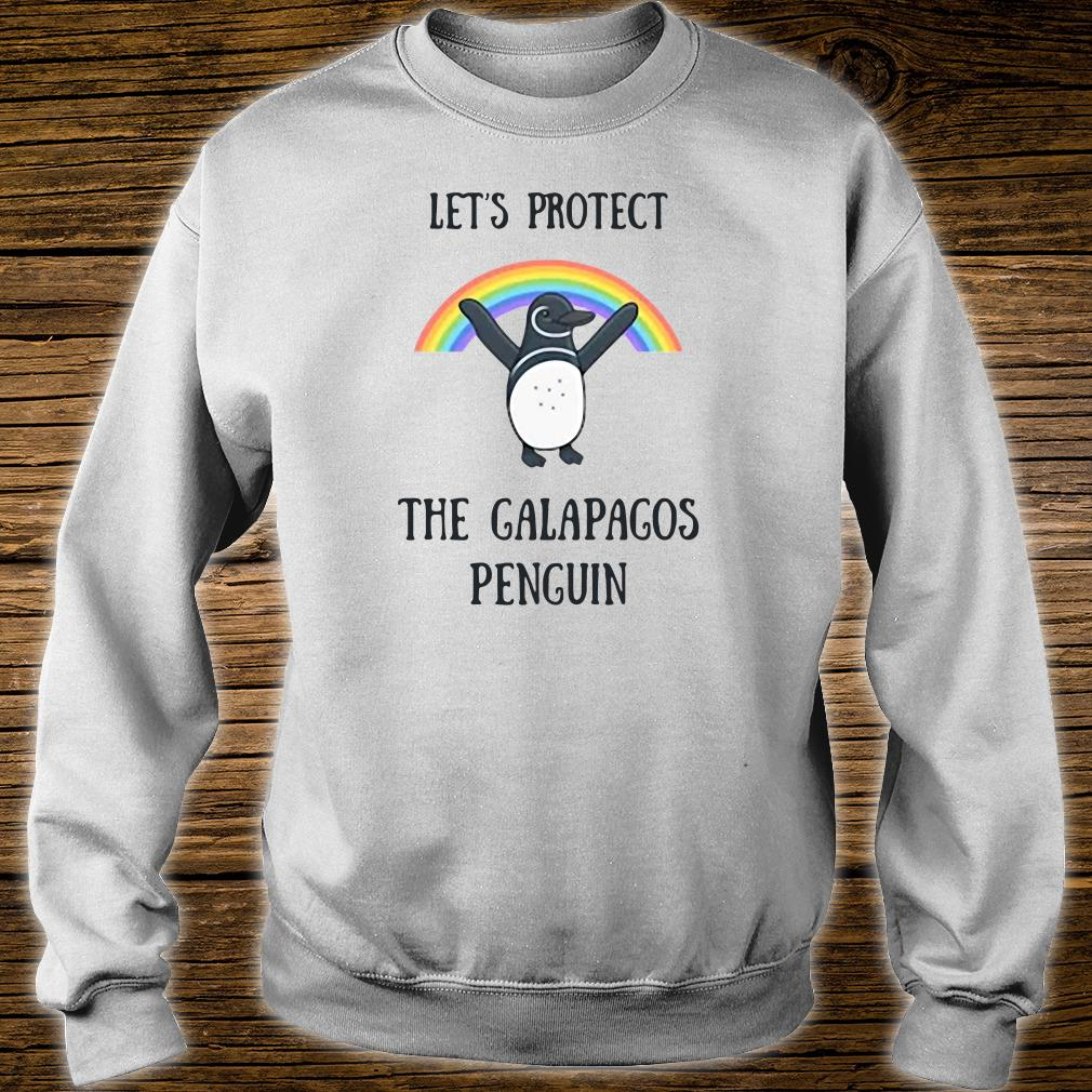 Let's protect the Galapagos Penguin shirt sweater