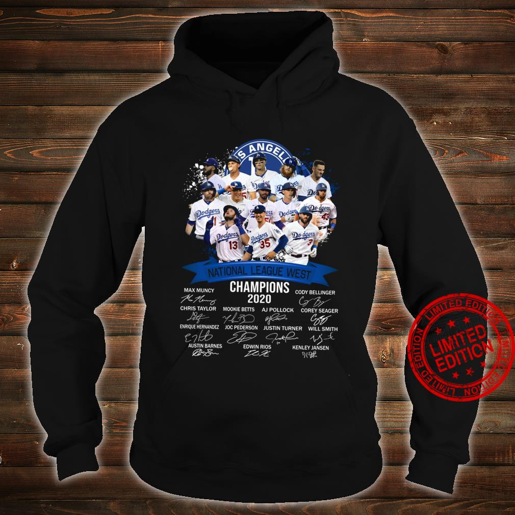 Los Angeles National League West Champions 2020 Shirt hoodie