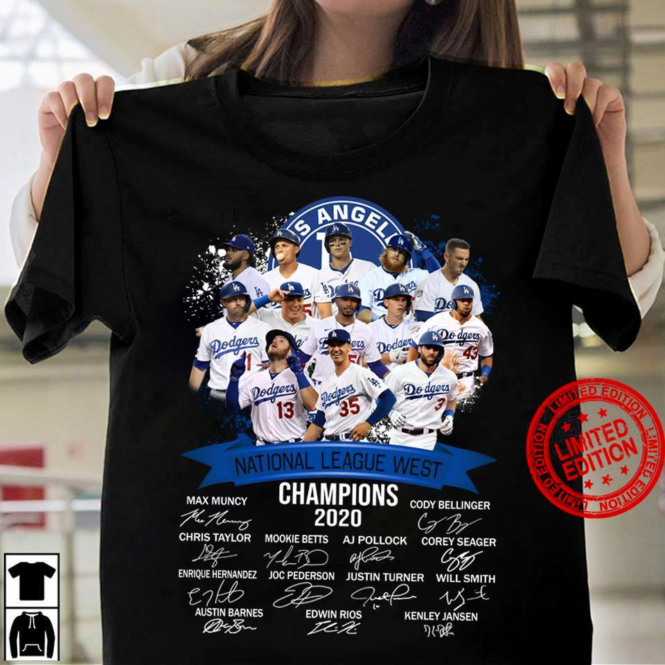 Los Angeles National League West Champions 2020 Shirt