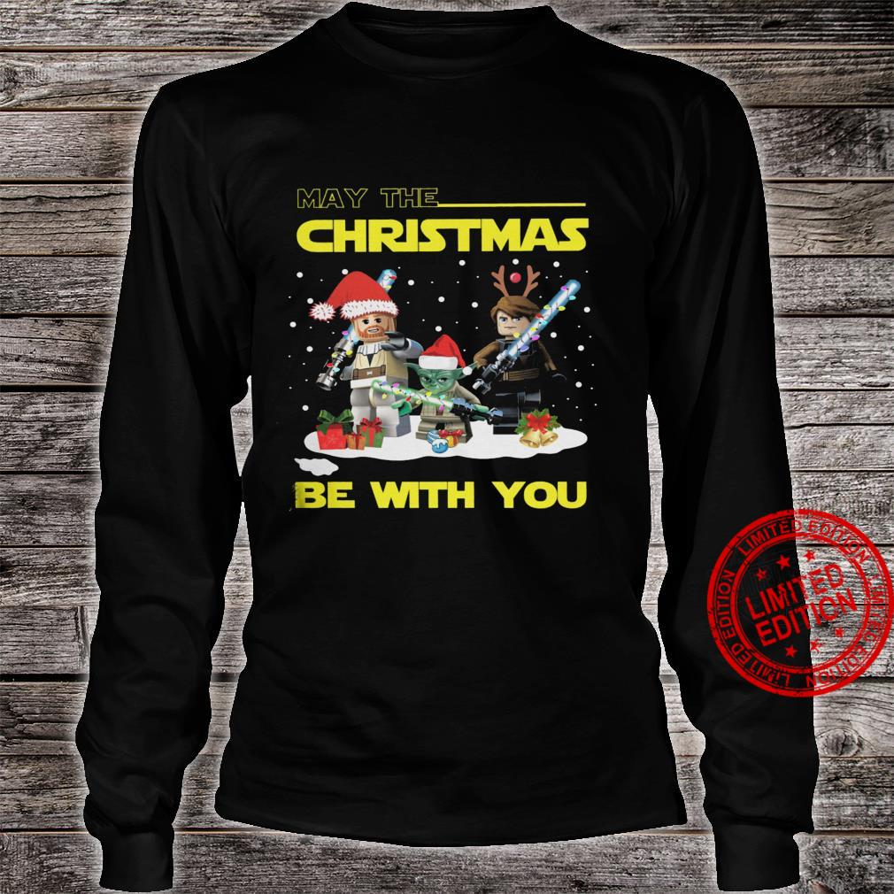 May The Christmas Be With You Shirt long sleeved
