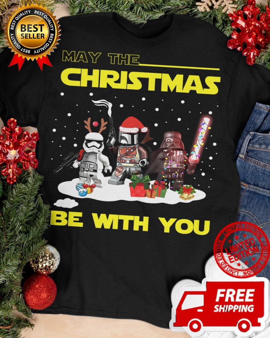 May The Christmas Be With You Shirt