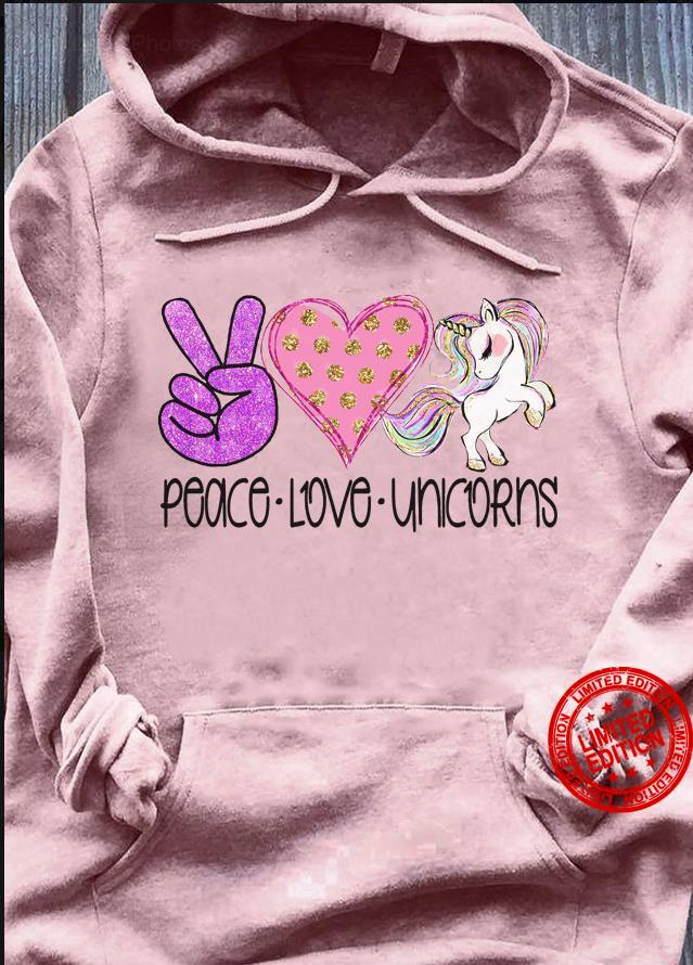 Peace Love Unicorn Shirt