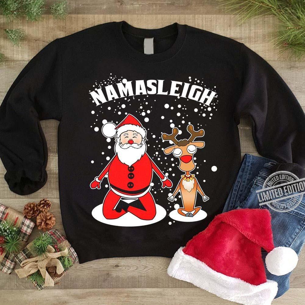 Santa Namasleigh Shirt