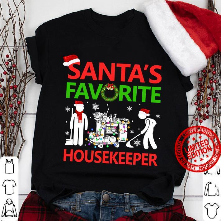 Santa's Favorite Housekeeper Shirt
