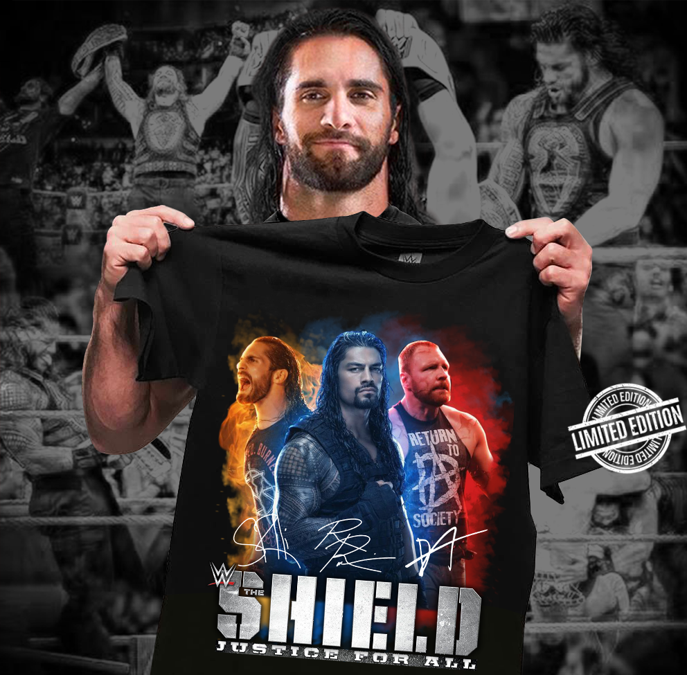 Shield Justice For All Shirt