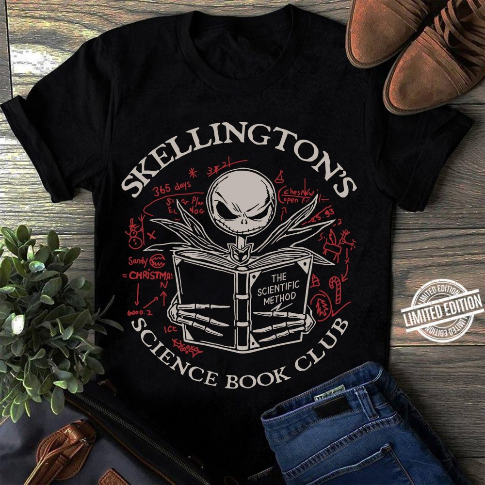 Skellingtons Science Book Club Shirt