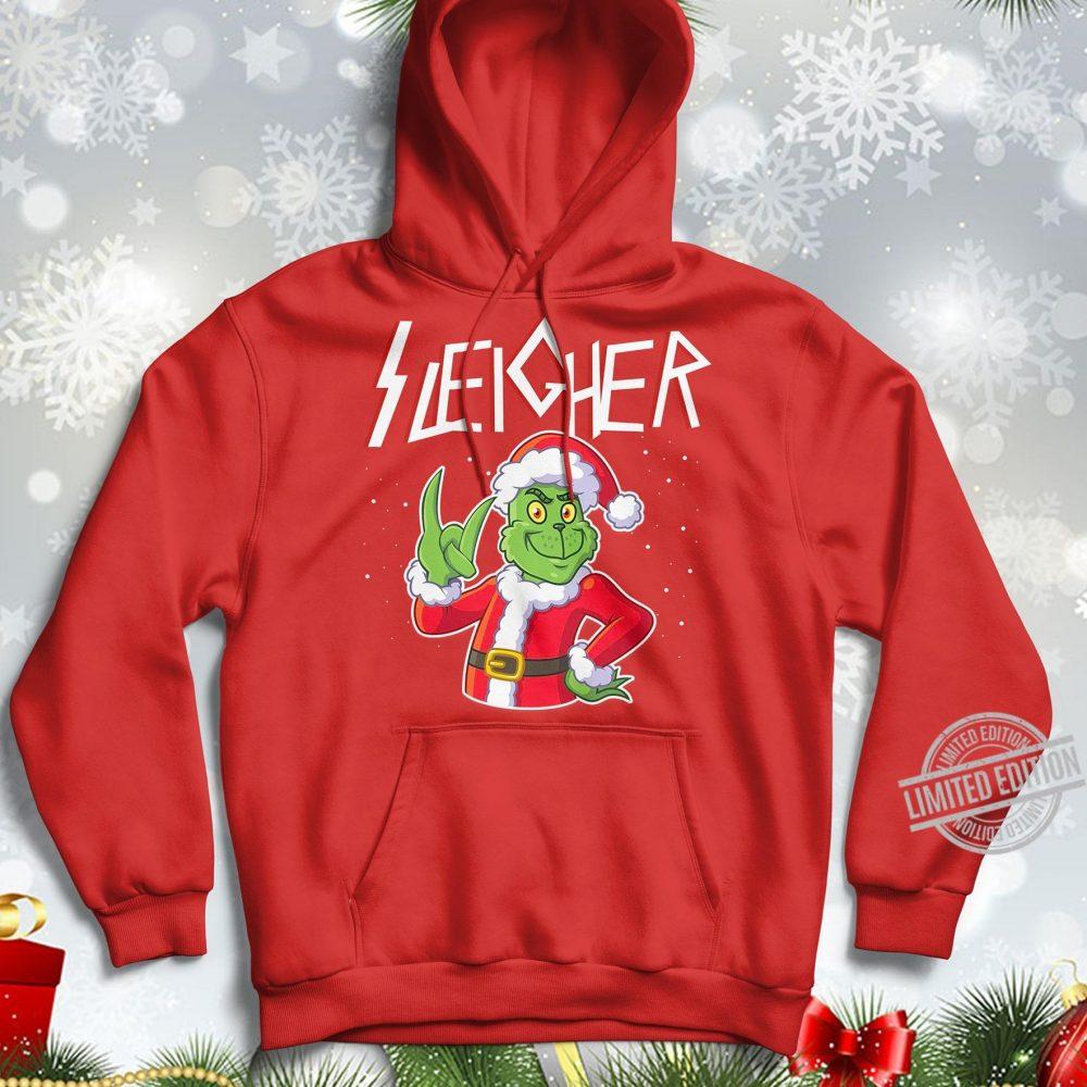 Sleigher Santa Grinch Shirt