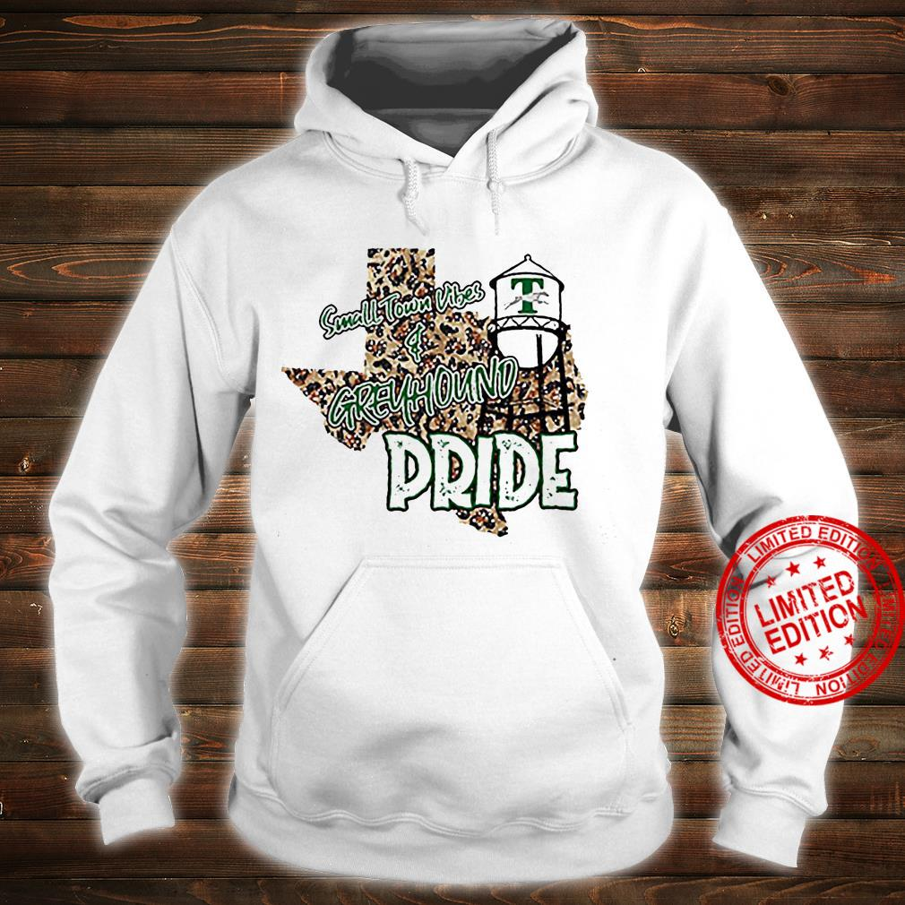 Small Town Vibes Greyhound Pride Shirt hoodie