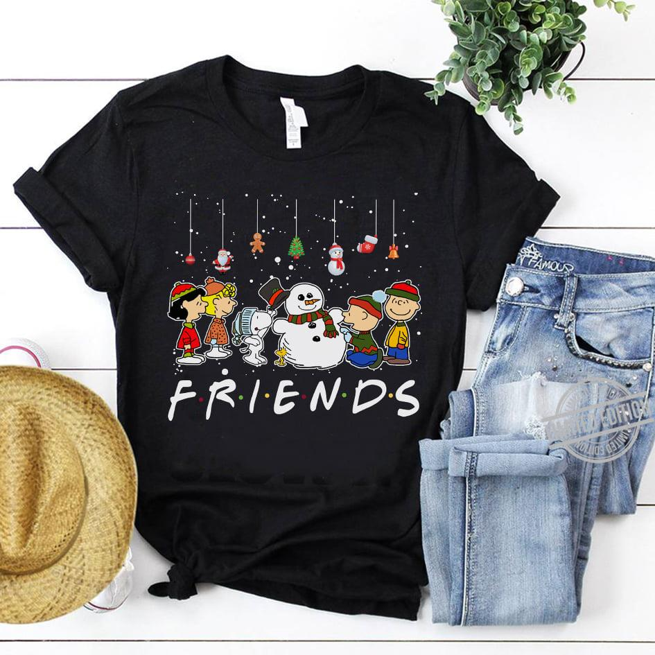 Snoopy And Snoman We Are Friends Shirt
