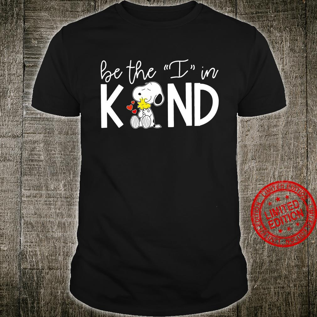 Snoopy Be The I In Kind Shirt unisex